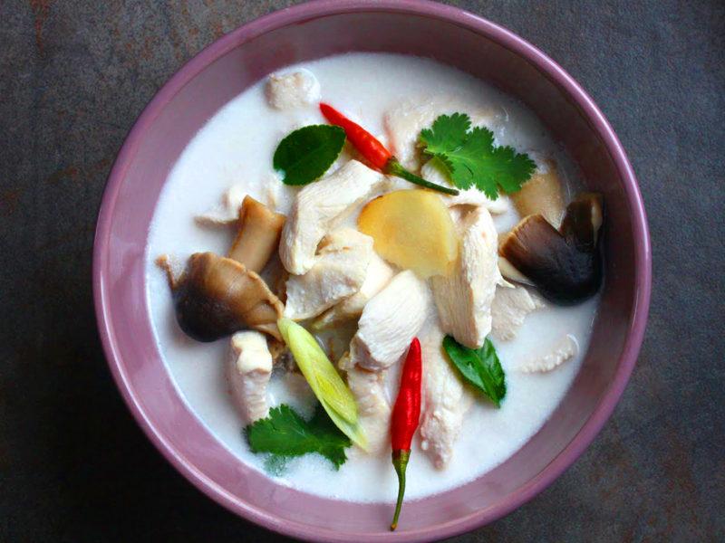 Тайская кухня: Том Кха Гай