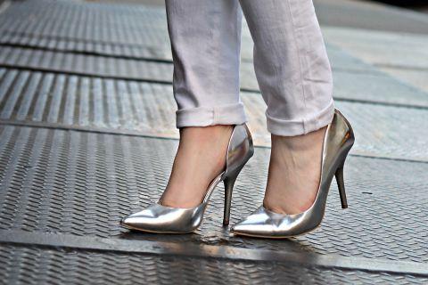 cеребряные туфельки к весне