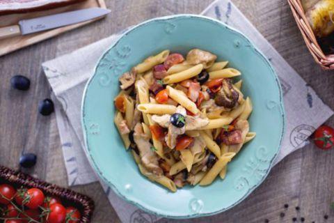 Итальянская кухня: «Паста лесника»