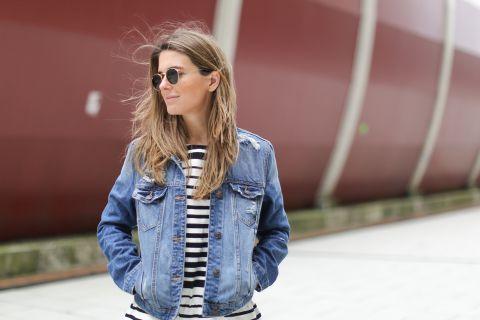 Джинсовая куртка  — универсальный элемент гардероба