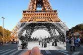 Прошлое и настоящее Парижа в одной фотографии